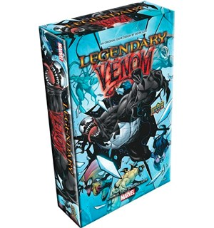 Legendary Marvel Venom Expansion Utvidelse til Marvel Deck Building Game