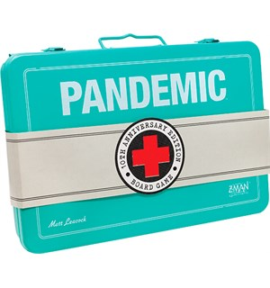 Pandemic 10th Anniversary Ed Brettspill Metallkoffert