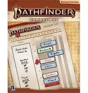 Pathfinder 2nd Ed Combat Pad Second Edition RPG