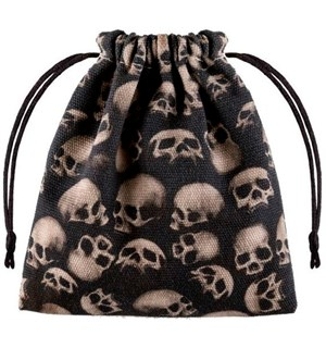 RPG Dice Terningpose - Skull Dice Bag