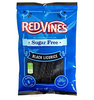 Red Vines Black Liquorice Sukkerfri 141