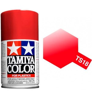 Tamiya Airspray TS-18 Metallic Red Tamiya 85018 - 100ml