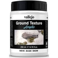 Vallejo Texture Snow 200 ml Ground Texture Acrylic