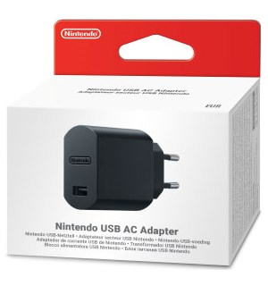 Vegglader USB Nintendo NES/SNES Mini USB AC Adapter