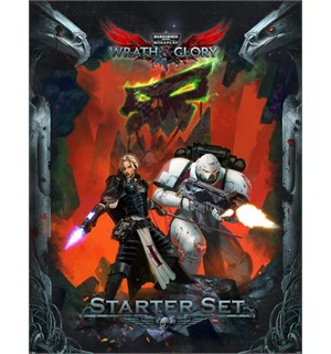 Warhammer 40K RPG Starter Set Wrath & Glory - Startsett