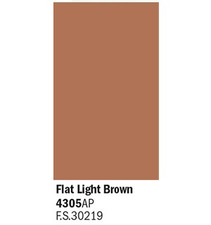 Akrylmaling Flat Light Brown Italeri 4305AP - 20 ml