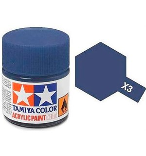Akrylmaling MINI X-3 Royal Blue Tamiya 81503 - 10ml