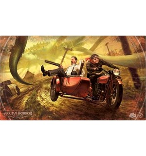 Arkham Horror TCG Playmat Narrow Escape 35 x 60 cm