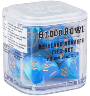 Blood Bowl Reikland Reavers Dice Set Warhammer Blood Bowl