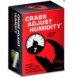 Crabs Adjust Humidity Vol 7 Expansion Uoffisiell utvidelse til Cards Against