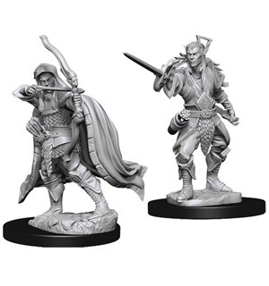 D&D Figur Nolzur Elf Rogue Male Nolzurs Marvelous Miniatures - Umalt