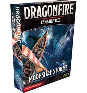 Dragonfire Moonshae Storms Campaign Box Utvidelse til Dragonfire