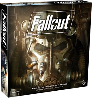 Fallout Board Game Brettspill