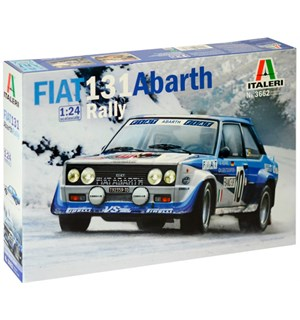 Fiat 131 Abarth Rally Italeri 1:24 Byggesett