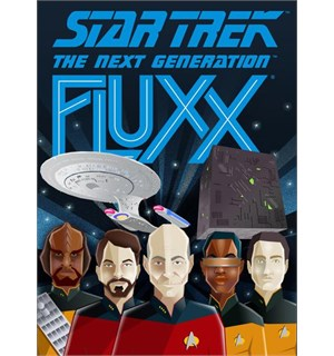 Fluxx Star Trek The Next Generation Kortspill