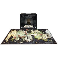 Game of Thrones 3D Puslespill 1500biter Westeros - 76 x 45 x 5 cm
