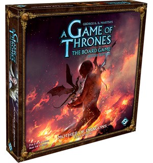 Game of Thrones Mother of Dragons Exp Utvidelse til Brettspillet 2nd Edition
