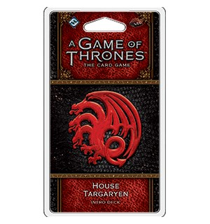 Game of Thrones TCG Targaryen Intro Deck House Targaryen - Ferdigbygget deck