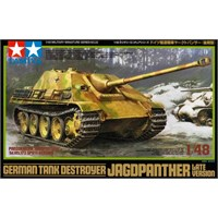 German Tank Destroyer Jagdpanther Late Tamiya 1:48 Byggesett