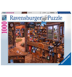 Grand Shed 1000 biter Puslespill Ravensburger Puzzle