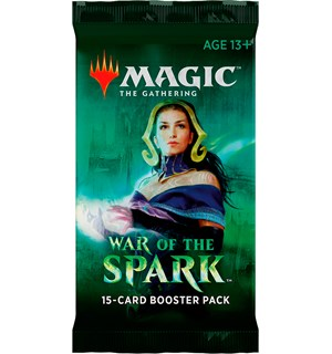 Magic War of the Spark Booster