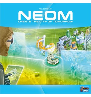 NEOM Brettspill Create the city of tomorrow
