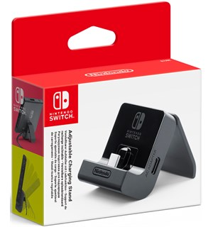 Nintendo Switch Ladestasjon (Justerbar) Adjustable Charging Stand