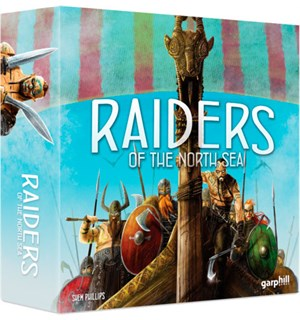 Raiders of the North Sea Brettspill Nominert til Årets Spill 2017