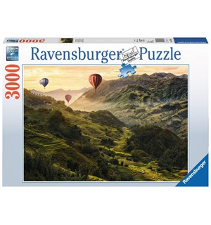 Rice Terrace 3000 biter Puslespill Ravensburger Puzzle