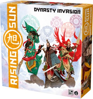 Rising Sun Dynasty Invasion Expansion Utvidelse til Rising Sun