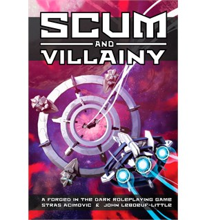 Scum and Villainy RPG Core Rulebook Roleplaying Game - Regelbok