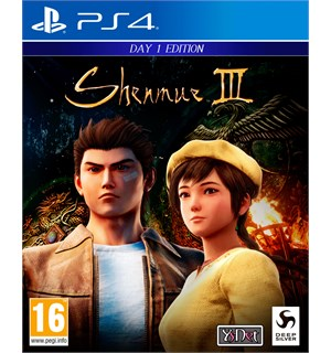 Shenmue 3 Day One Edition PS4 Shenmue III