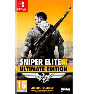 Sniper Elite 3 Ultimate Edition Switch