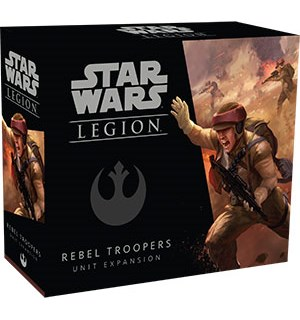 Star Wars Legion Rebel Troopers Unit Exp Utvidelse til Star Wars Legion