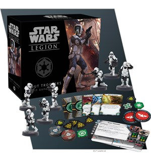 Star Wars Legion Scout Troopers Unit Exp Utvidelse til Star Wars Legion