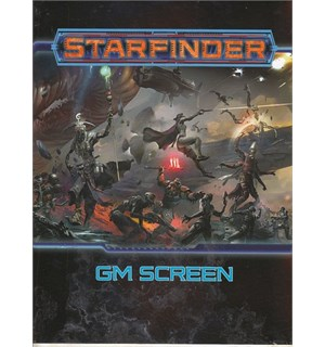 Starfinder RPG GM Screen Roleplaying Game - Game Master Skjerm