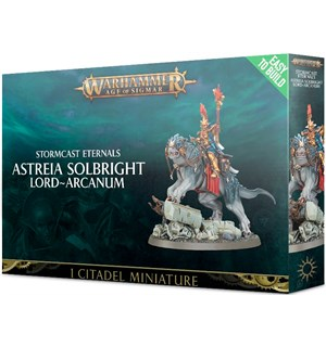 Stormcast Eternals Astreia Solbright ETB Warhammer Age of Sigmar Lord-Arcanum