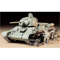 T34/76 Russian T34/76 Tank ChTZ Version Tamiya 1:35 Byggesett