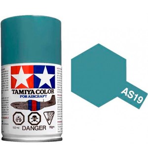 Tamiya Airspray AS-19 Intermediate Blue Tamiya 86519 - 100ml