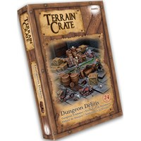 Terrain Crate Dungeon Debris Fra Mantic Games - 24 deler