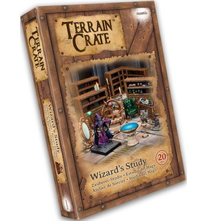Terrain Crate Wizards Study Fra Mantic Games - 20 deler