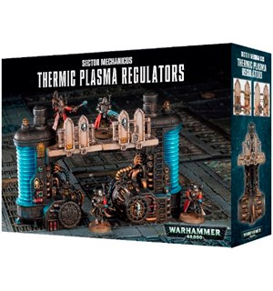 Thermic Plasma Regulators Warhammer 40K Sector Mechanicus