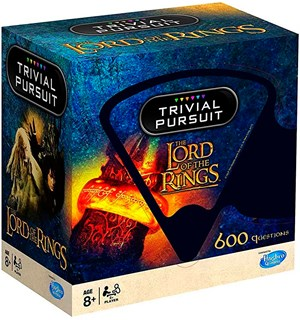 Trivial Pursuit Lord of the Rings Over 600 spørsmål