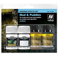 Vallejo Diorama Effects Set Mud/Puddles