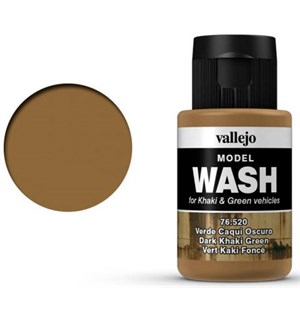 Vallejo Model Wash - Dark Khaki Green 35 ml