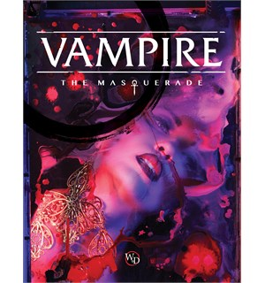 Vampire The Masquerade Regelbok 5th Edition Core Book  Hardback