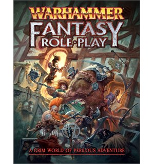 Warhammer RPG Rulebook Regelbok Warhammer Fantasy  Role Play 4th Edition