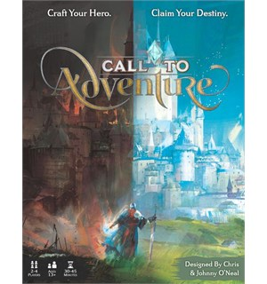 Call to Adventure Kortspill