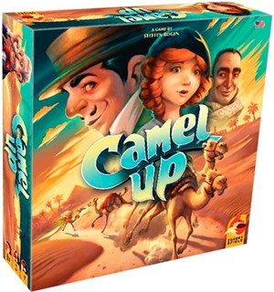 Camel Up Brettspill - Second Edition Camel Cup