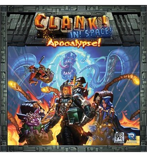 Clank In Space Apocalypse Expansion Utvidelse til Clank In Space